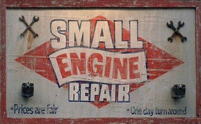 Small Engine Repair'